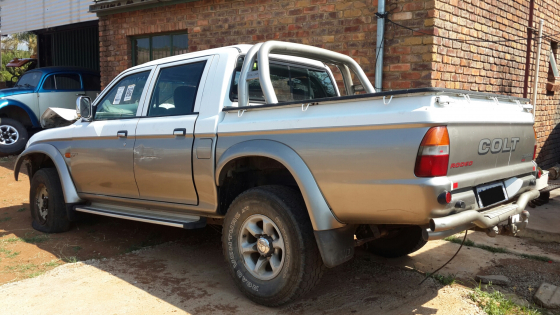 Mitsubishi Colt 4x4 Stripping for Spares