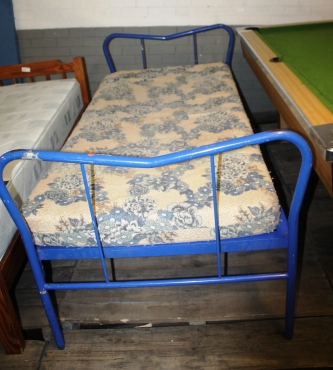 Steel Single bed S02