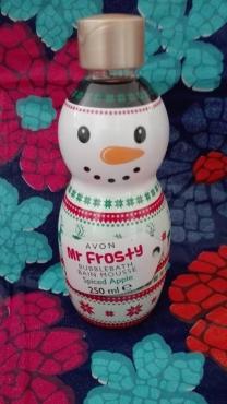 Avon mr frosty bubblebath