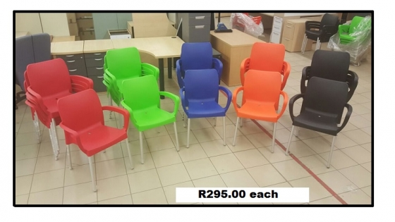 Stacker chairs for sale (new)