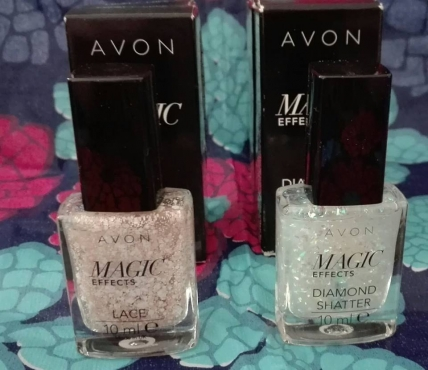Avon lace and diamond shatter