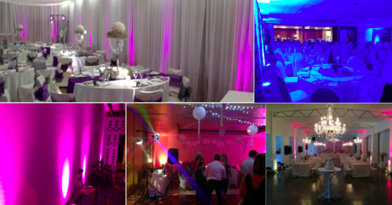UV Lights Party Smoke Machines For Hire