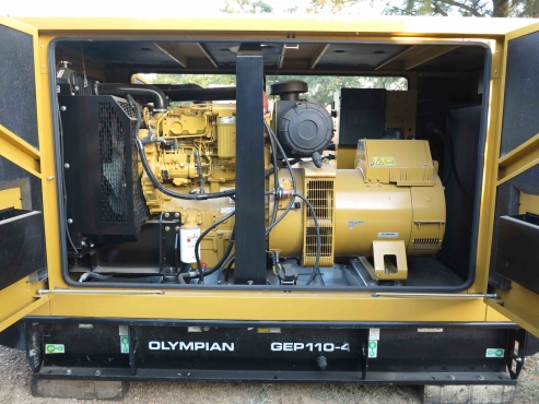 New CAT 50 kVA Diesel Genset, brand new, enclosed, with auto AMF switch - rent to own option
