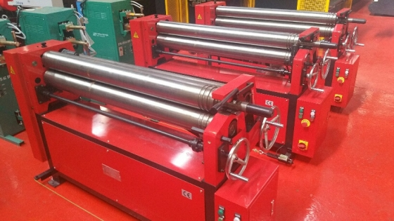 PLATE ROLLERS MANUAL 1300MM X 2MM FOR SALE