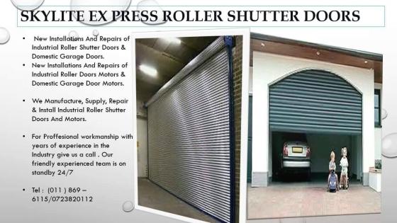 Roller Shutter Doors In Gardening Outdoors And Diy In Johannesburg