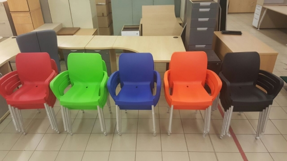 stacker chairs for sale new junk mail
