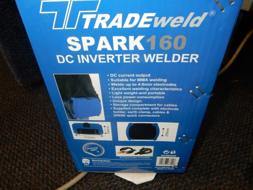 Spark 160 DC Inverter Welder