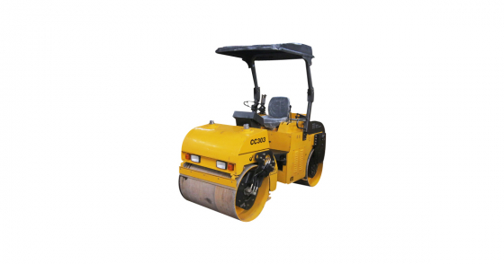 SAVE MASSIVELY ON THIS RIDE-ON VABRATING DRUM ROLLER 3000KG