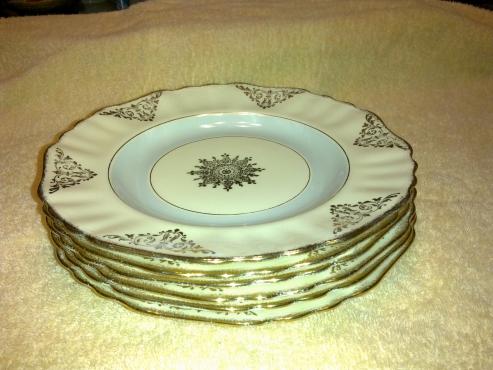 J&G Meakin Plates