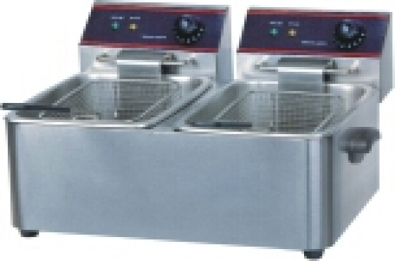 BRAND NEW DOUBLE ELECTRIC FRYERS (2X11L )
