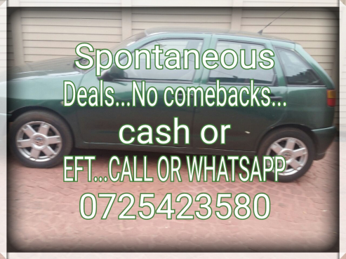 100% good deals for your cars and bakkies