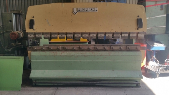 PROMECAM 80TON X 2500MM PRESS BRAKE FOR SALE
