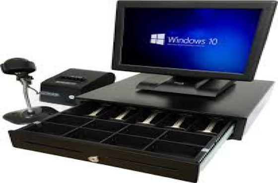 Pos System Only Windows7 (Complete Hardwares Only)