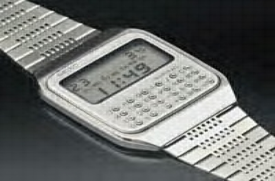 SEIKO WATCH DIGITAL CALCULTOR