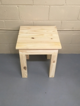Side table Chunky Cottage series 500 Raw