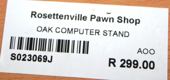 Computer Stand S023096J #Rosettenvillepawnshop