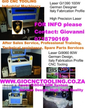 Laser engraver cutting machine CNC ROUTER & VINYL CUTTER WHY NOT START YOUR OWN HOBBY