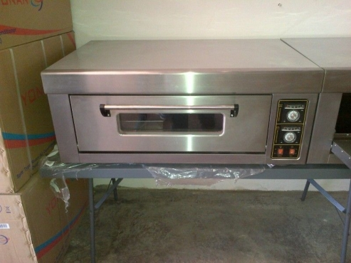 QUALITY, INDUSTRIAL ELECTRIC DECK OVENS!! 220V AND 380V