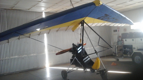microlight Raptor 582 bluetop for sale