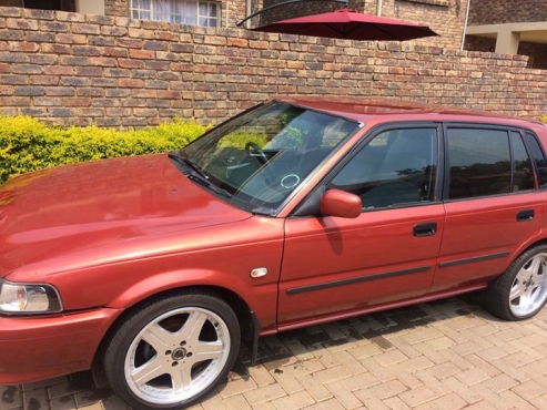 maroon toyota tazz 1 3 year 2003 junk mail Toyota RunX for Sale