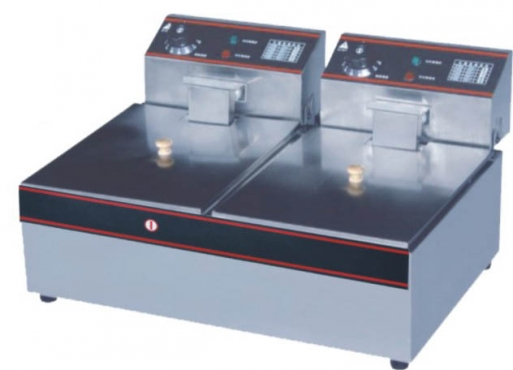 QUALITY, INDUSTRIAL 2X5L ELECTRIC FRYERS!!