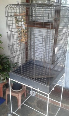 Small bird cage.