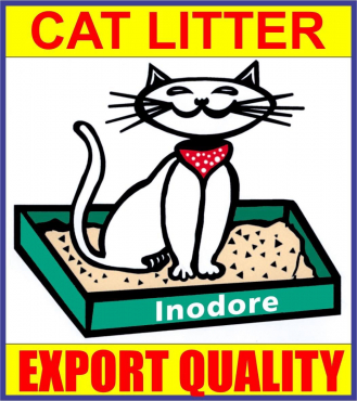 Grey Clay Granules Cat Litter Sand