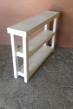 Console Farmhouse series 1300 White washed