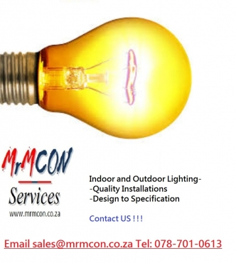 INDOOR AND OUTDOOR LIGHTING – QUALITY INSTALLATIONS AND PRODUCTS