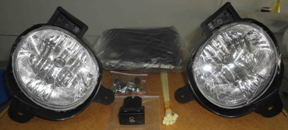 Toyota Hilux 2012 onwards brand New foglights kit For sale R950