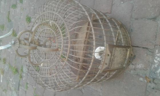 Vintage bird cage for sale