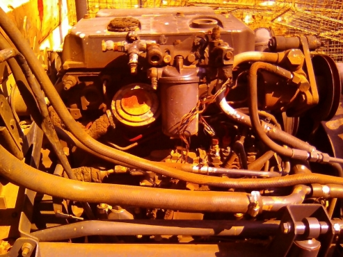 Mercedes-Benz MB800 truck with 364ADE Turbo engine