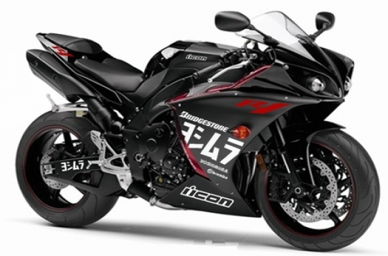 2013 Yamaha R1 Yoshimura graphics decals sticker kit