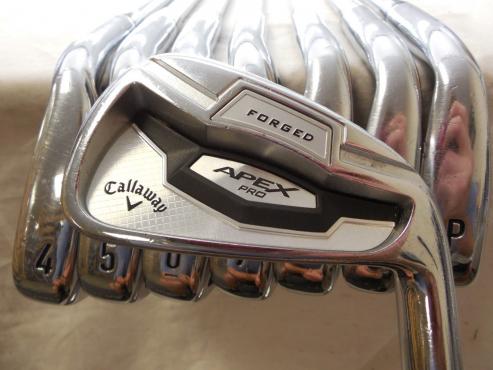 Callaway Apex Pro Forged 16 3-PW Iron Set XP95 S300 Stiff flex Steel Irons