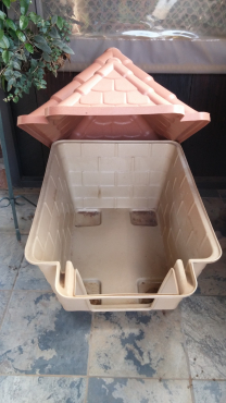 Dog House with  Tile  roof