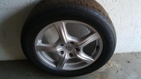 Porsche Wheels 18 inch Brand New