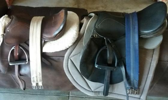 HORSE TACK - bridles and saddles