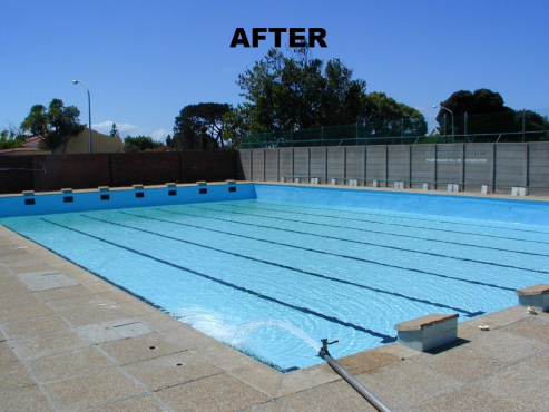 Pool Surface Cracked , Leaking or Discolored