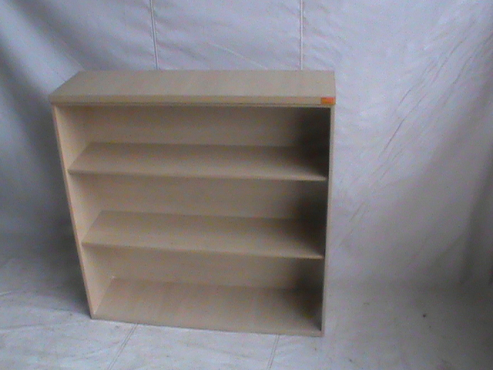Maple open book case 3 tier
