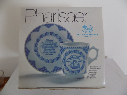 Traditional German Cup & Saucer