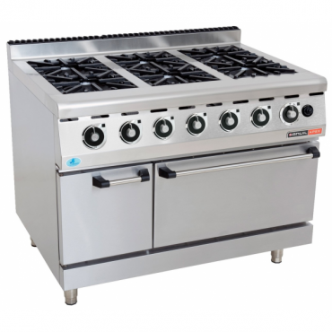 GAS STOVE WITH ELECT