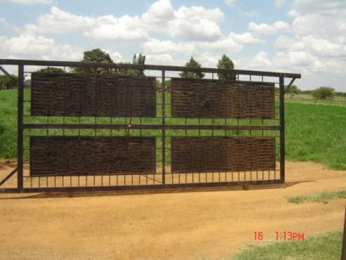 STEEL SLIDING GATE FOR SALE