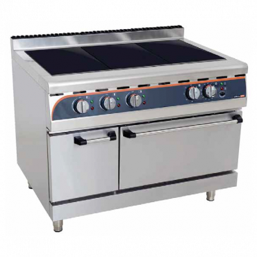 ANVIL 3 PLATE STOVE WITH OVEN - ELECTRIC