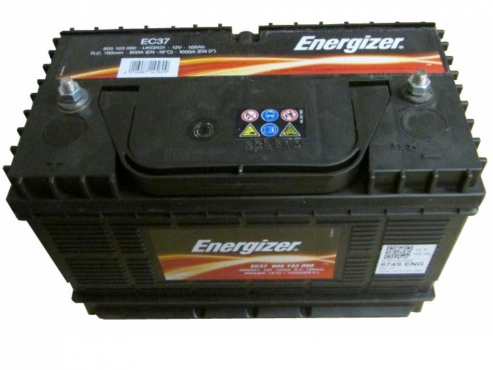 Energiser 12v 105Ah Ec37 High Cycle Battery w/Stud Terminals - Maiden Electronics