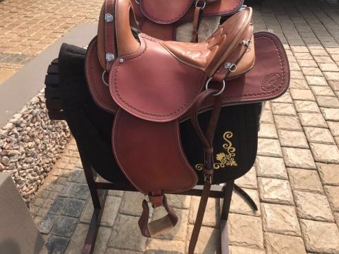 Authentic  Buckaroo Saddles