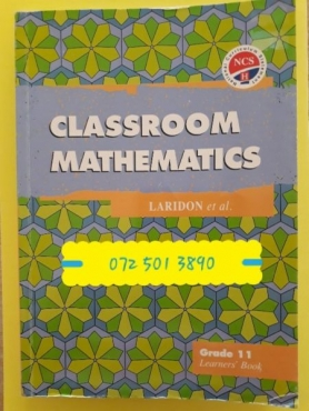 Classroom Mathematics - Grade 11 - Learners Book - Laridon.