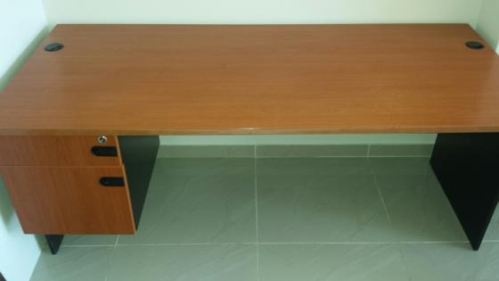 Large cherry wood office desks R1000 each