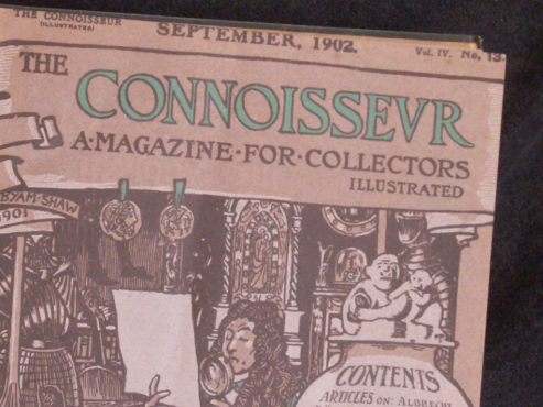 The Connoisseur -  Editions1902 – 3 Volumes