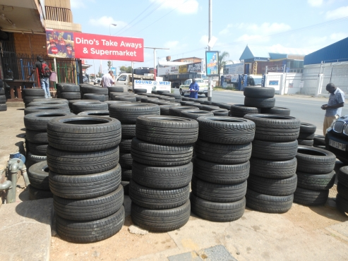 Quality Used/second hand tyres in Pretoria for Wholesale & Retail call 0127558024 / 0641821173