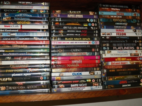 DVDs for sale | Junk Mail